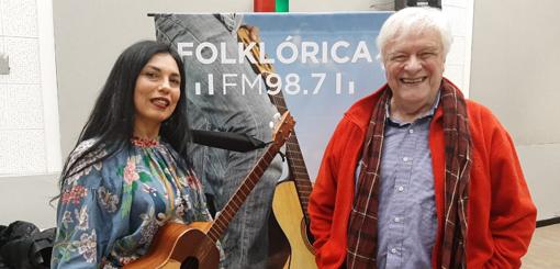 La Charo Bogarín en vivo con Héctor Larrea