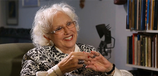 Héctor Larrea entrevistó a Susana Rinaldi