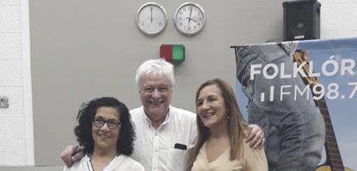 Las Hermanas Vera en vivo con Héctor Larrea
