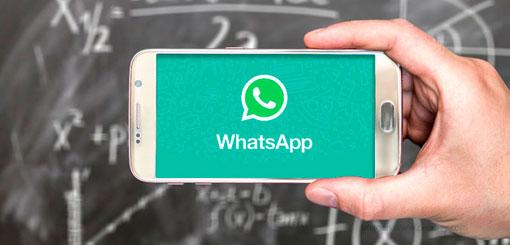El Gobierno nacional presentó una línea educativa en WhatsApp