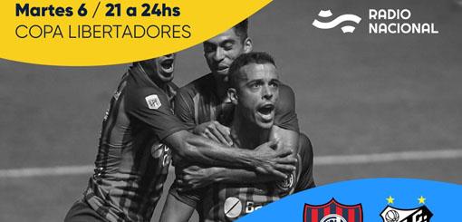 San Lorenzo se la juega ante Santos