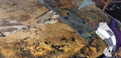 Una mujer y sus cuatro hijos graves tras incendio de una vivienda