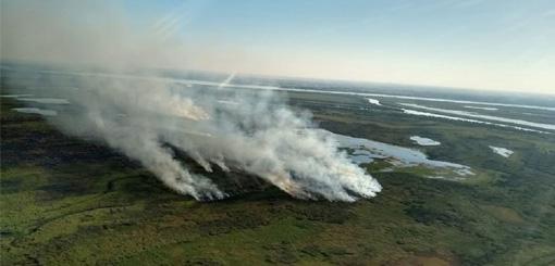 Entre Ríos y Santa Fe coordinan acciones por quemas en islas