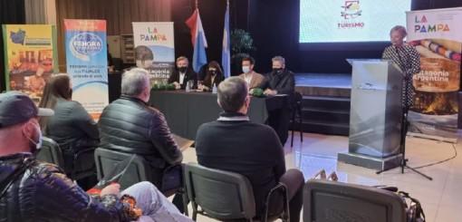 La Pampa presentó su oferta turística de invierno en Carlos Paz