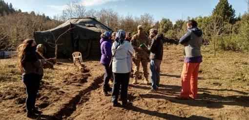"""Comunidad mapuche: """"Queremos vivir como cualquier persona, en paz"""""""