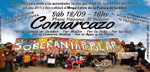 """""""Comarcazo"""" en contra del posible loteo en Pampa de Ludden"""